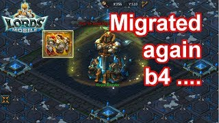 Migrated again?  - 王國紀元 Lords Mobile