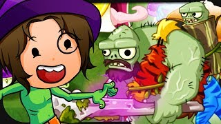GRUSELIGE Halloween Zombies mit Zombey! ☆ Plants vs. Zombies 2