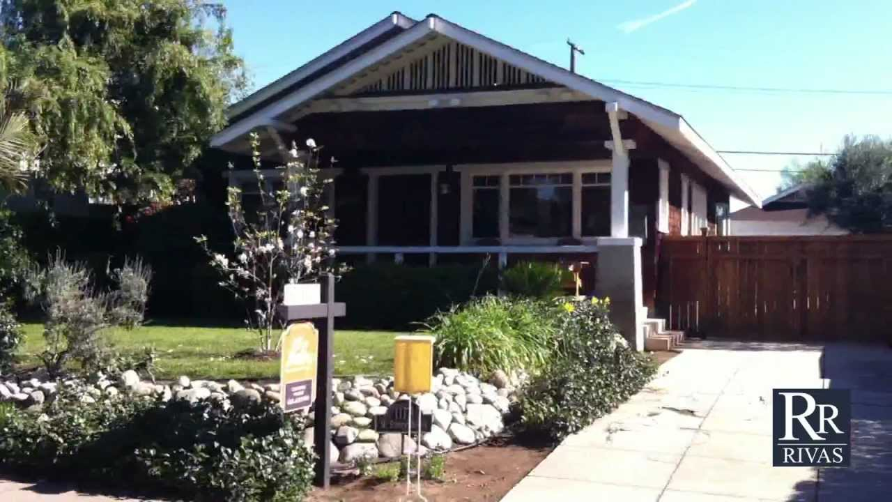 Pasadena craftsman bungalow home for sale youtube for Craftsman homes for sale in california