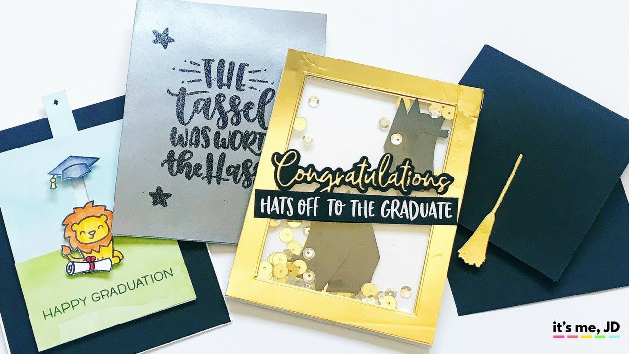4 Easy Diy Graduation Card Ideas Tutorial For Handmade Graduation