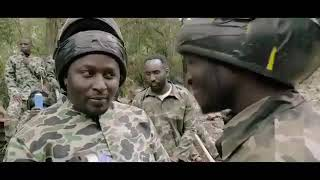 Kenyan soldiers comedy