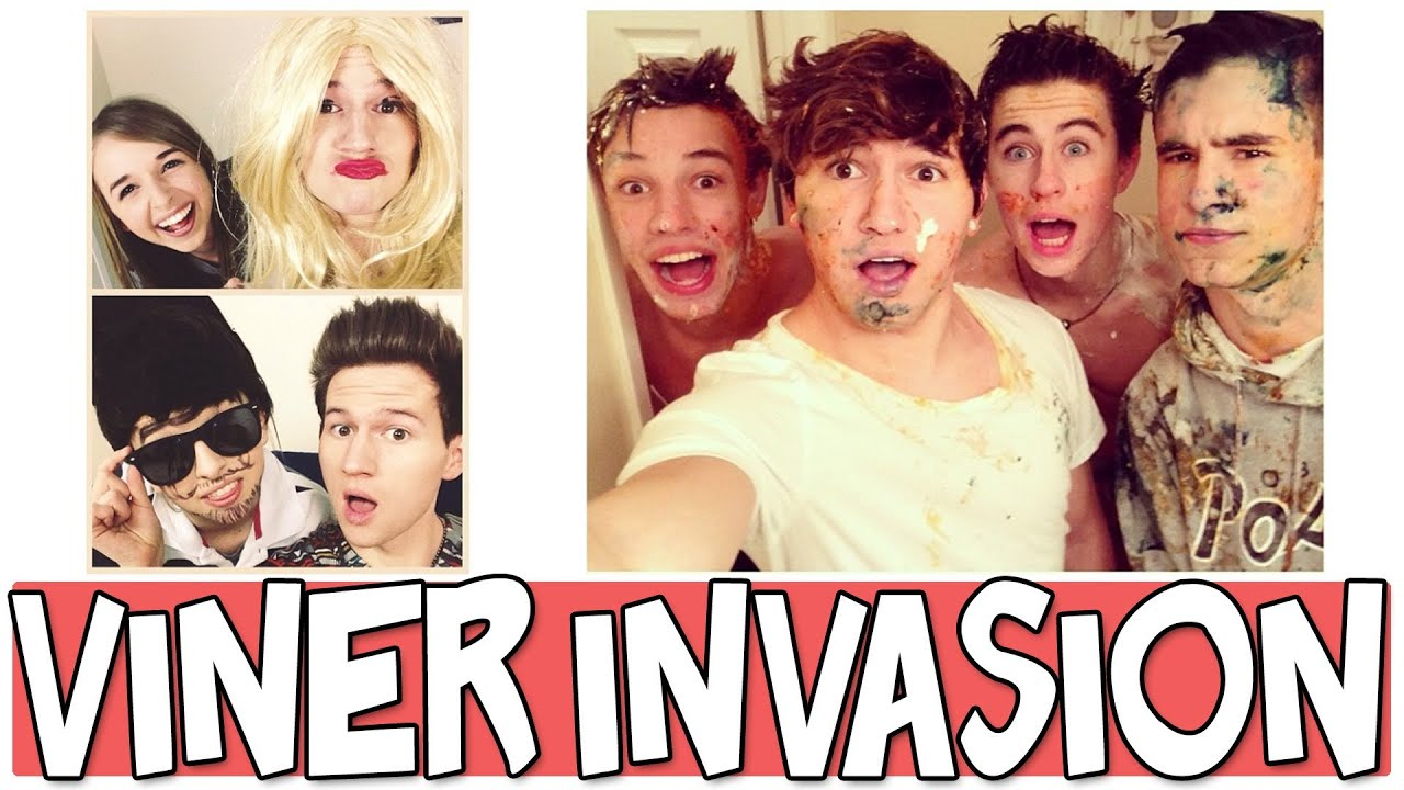 Viners Invade The O2l House Youtube