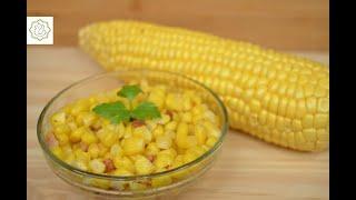 Milho Verde Cozido no Micro-ondas - Chef Ana Lemgruber (2021)