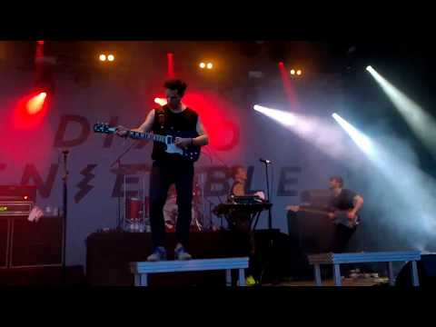 Disco Ensemble - Eartha Kitt - Live @ Jurassic Rock 4.8.2017