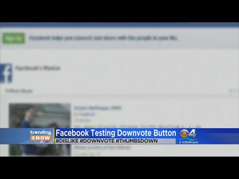Facebook Testing Out 'Downvote' Button