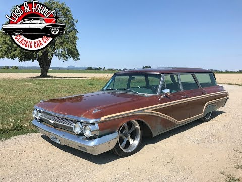 1962 Mercury Colony Park  Patina Wagon For Sale!