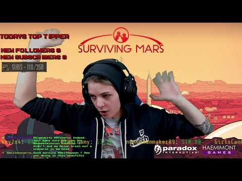 Surviving Mars stream replay! New game! New colony!