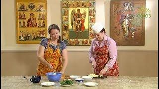 Кулинарное паломничество. Храм Архангела Михаила в Филях, готовим простой и вкусный салат