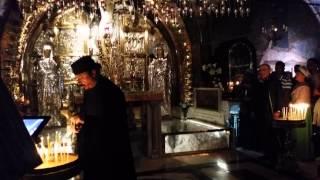 Храм Гроба Господня,Голгофа в 4К видео(, 2014-04-14T23:04:14.000Z)