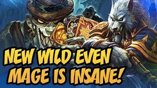 New Wild Even Mage Is Insane! | Rastakhan