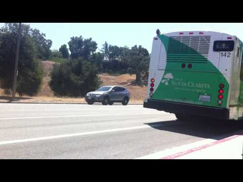City of Santa Clarita Transit Route 4 at College of Canyons 7/31/2013 - 142