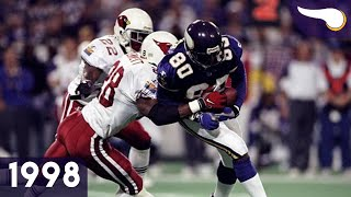 Favored Vikes Make Cards See Red - Cardinals vs. Vikings (1998 Div. Playoffs) Classic Highlights