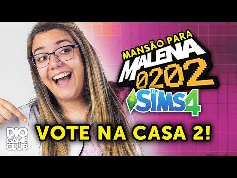 GAMEPLAY ESPECIAL: A Mansão Nº2! ~ The Sims 4 | DioGameClub thumbnail