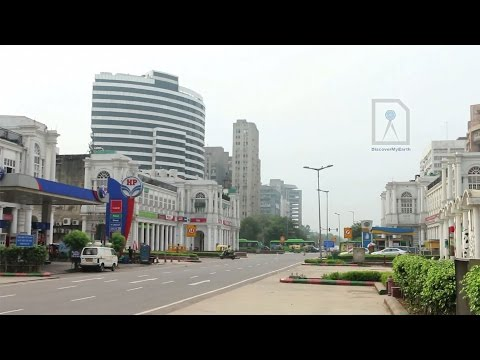 Connaught Place - largest commercial centre in New Delhi
