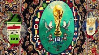 Inmortalizan el Mundial de Rusia 2018 con las famosas alfombras persas