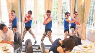 結婚式の余興で、タンバリン芸人ゴンゾーのフレンズを頑張って練習しま...