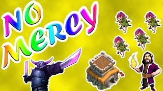 Clash of Clans   CLAN WAR - SHOWING NO MERCY   3 Star TH6 & TH8 Attacks   [077]