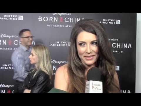 Cerina Vincent at the Born in China Premiere