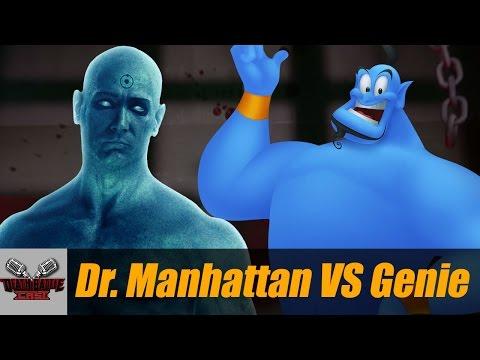 Dr. Manhattan VS Genie (ALADDIN) | DEATH BATTLE Cast