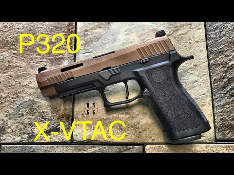 Sig Sauer P320 X-VTAC  -  An Awesome Yet Very Different Kind Of P320!