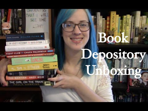 Book Depository Unboxing & Haul