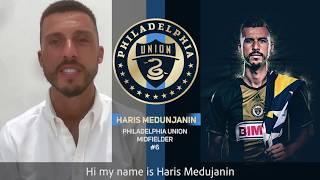 Haris Medunjanin, Philadelphia Union Soccer-- #Irina4CityCouncil!