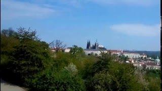 Прага Чехия Видео с фуникулёра!