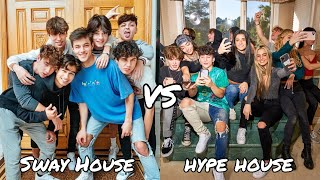 sway house VS hype house Tik Tok Battle