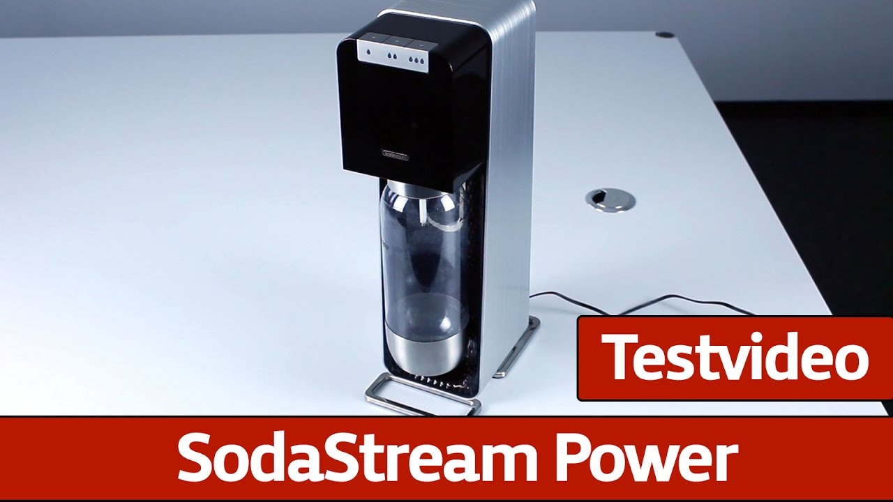 sodastream power testvideo youtube. Black Bedroom Furniture Sets. Home Design Ideas