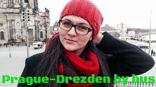 VLOG: День 49. Из Праги в Дрезден автобусом за 7,5 $. Дрезден - мои впечатления