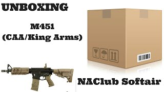 Unboxing: m451 (CAA/King Arms) Softair - ITA