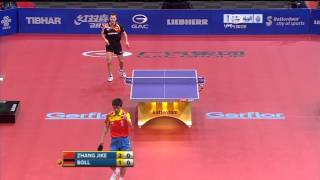 2011 WTTC Zhang Jike - Timo Boll (full match|short form)