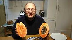 Wann ist eine Papaya reif und wohlschmeckend? Hier die Lösung :-)