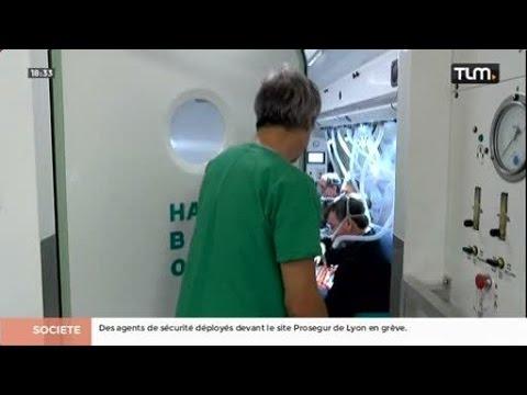 Un nouveau caisson hyperbarre à l'hôpital Edouard Herriot