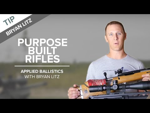 Purpose Built Rifles for Long-range Shooting | Applied Ballistics
