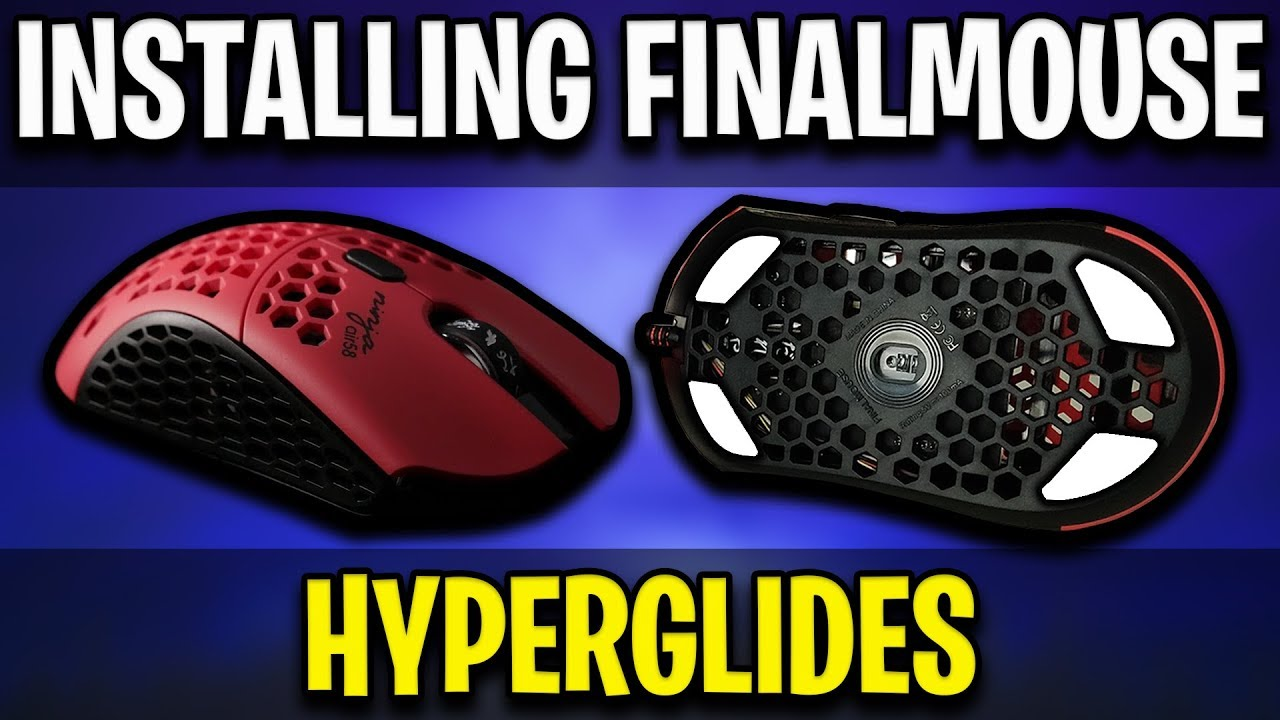 How To Install Hyperglide Mouse Skates On Finalmouse Air58 Ninja