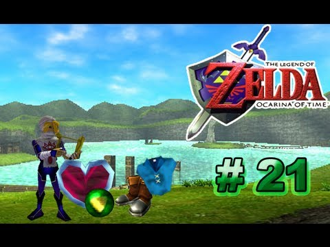 The Legend of Zelda Ocarina of Time Guia Parte 21 La Escama Dorada Videos De Viajes