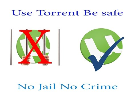 How to use torrent in legal way without any Jail or problem (Hindi/English)