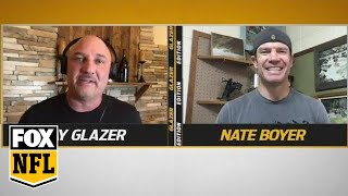 Jay Glazer's MVP co-founder Nate Boyer gives advice on getting through quarantine | FOX NFL