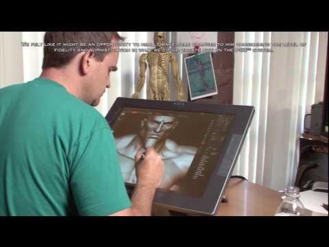 God of War 3 Bonus Features - Character Art in HD