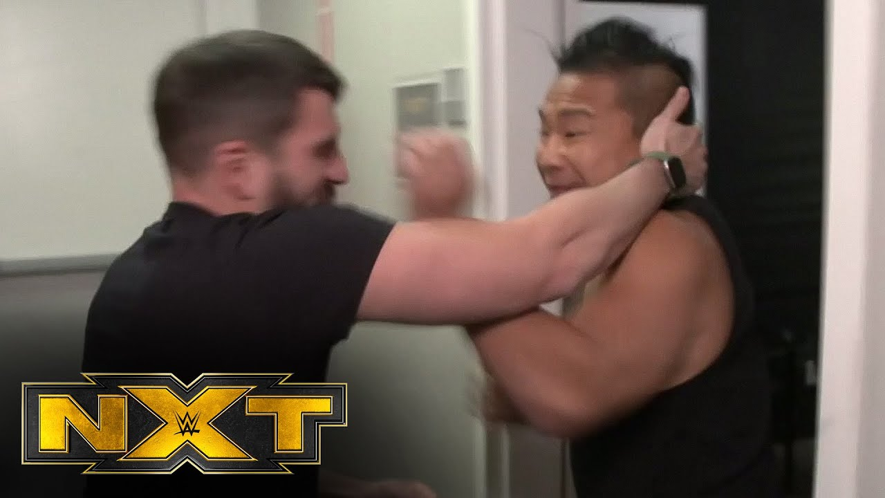 Johnny Gargano and Kushida brawl over NXT TakeOver news: WWE NXT, Feb. 3, 2021