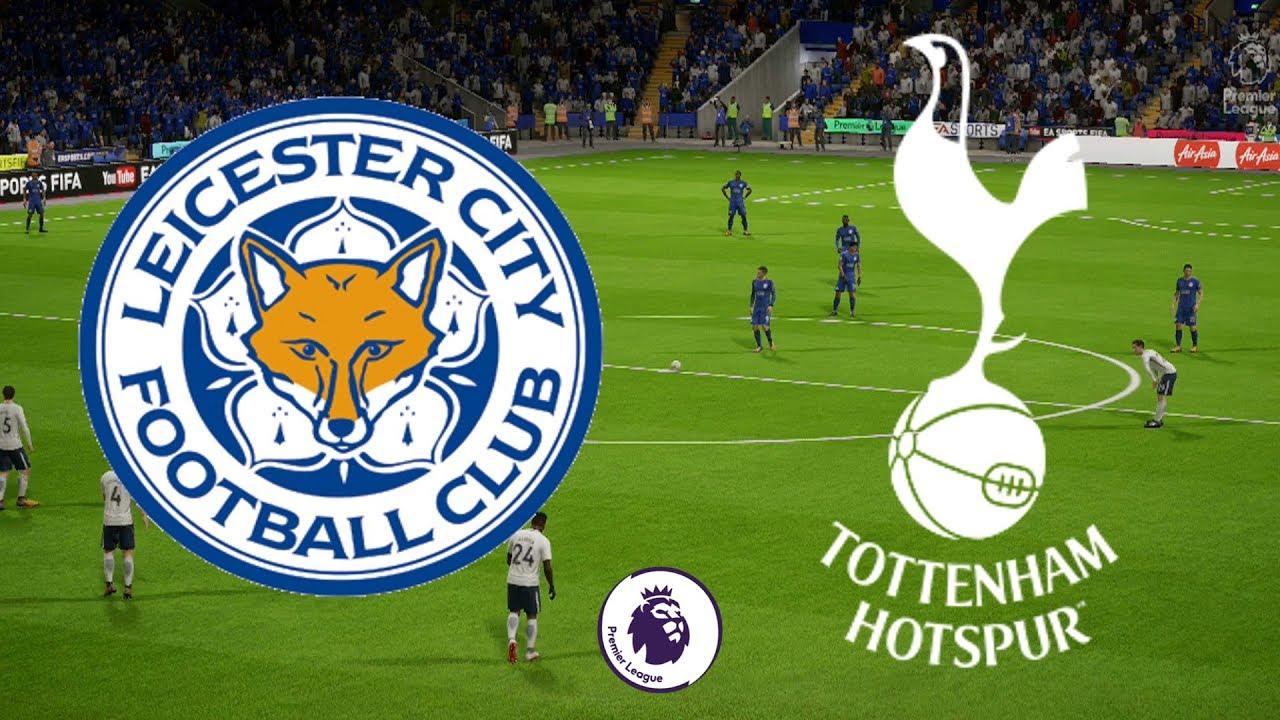 Premier League 2017/18 - Leicester City Vs Tottenham - 28/11/17 - FIFA 18 -  YouTube
