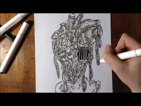 Sketching A Heart With Music
