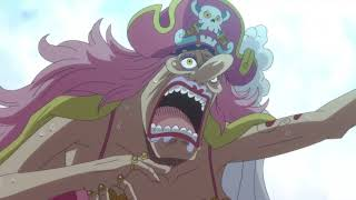 Big Mom eats the wedding cake | One Piece