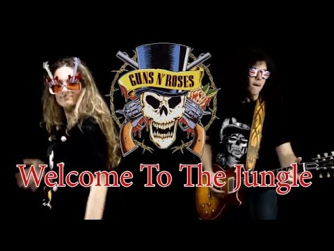 Welcome to the jungle - Guns N' Roses; Cover by Andrei Cerbu & Diana Malancus