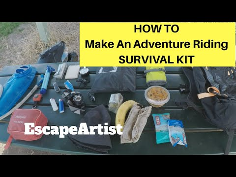HOW TO make an Adventure Riding SURVIVAL KIT