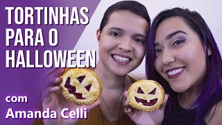 Tortinhas para o Halloween com Amanda Celli do Tempero de Bruxa