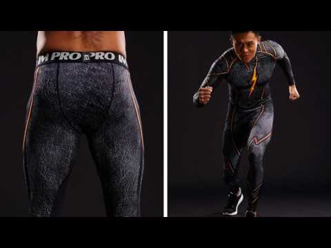 The Best DC The Flash 3D Printed Compression Skinny Gym Leggings Ever