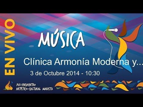Clínica Armonía Moderna y Composición 03/10/2014 a las 10:30 hrs.