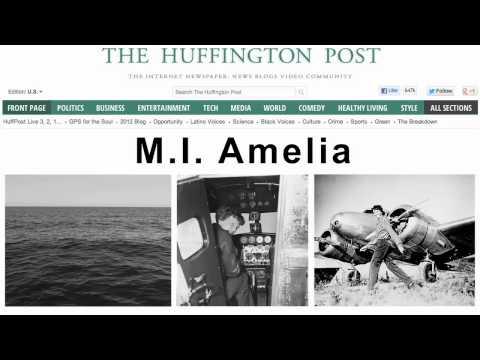 Historical Headline: Amelia Earhart